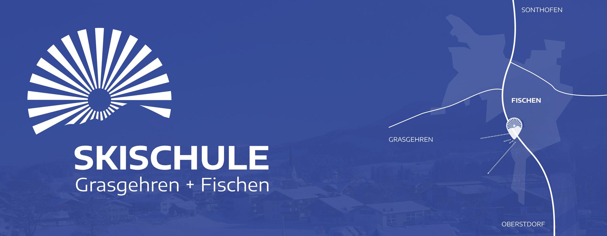 Skischule Grasgehren + Fischen Anfahrtskarte
